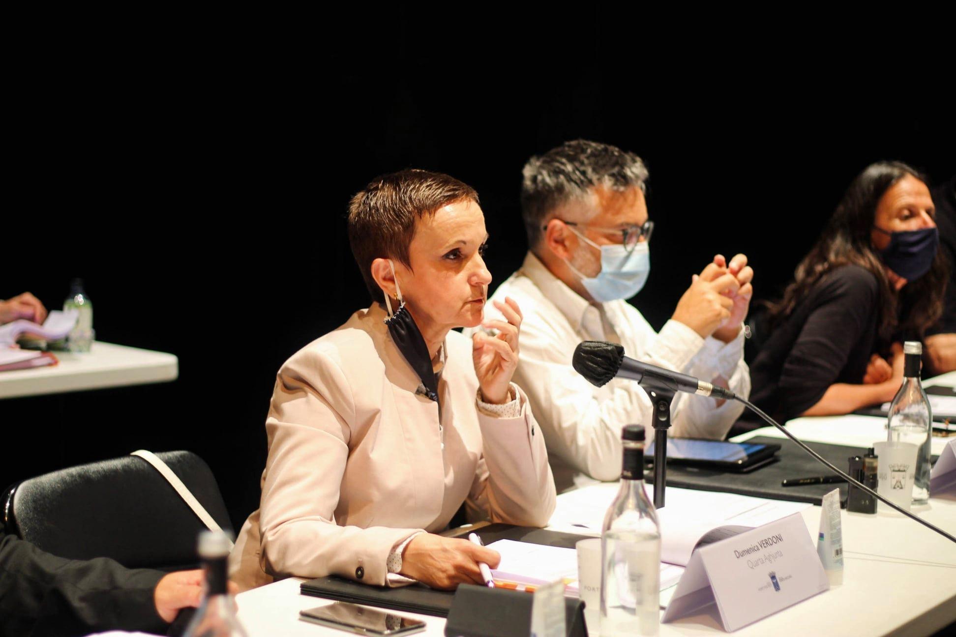 Dumenica Verdoni, quatrième adjointe en charge de la culture, de l'éducation et de la langue corse. Crédit photo Cità di Portivechju