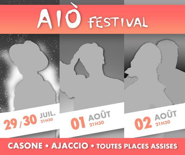 Le Aìo Festival d'Ajaccio aura bien lieu cet été