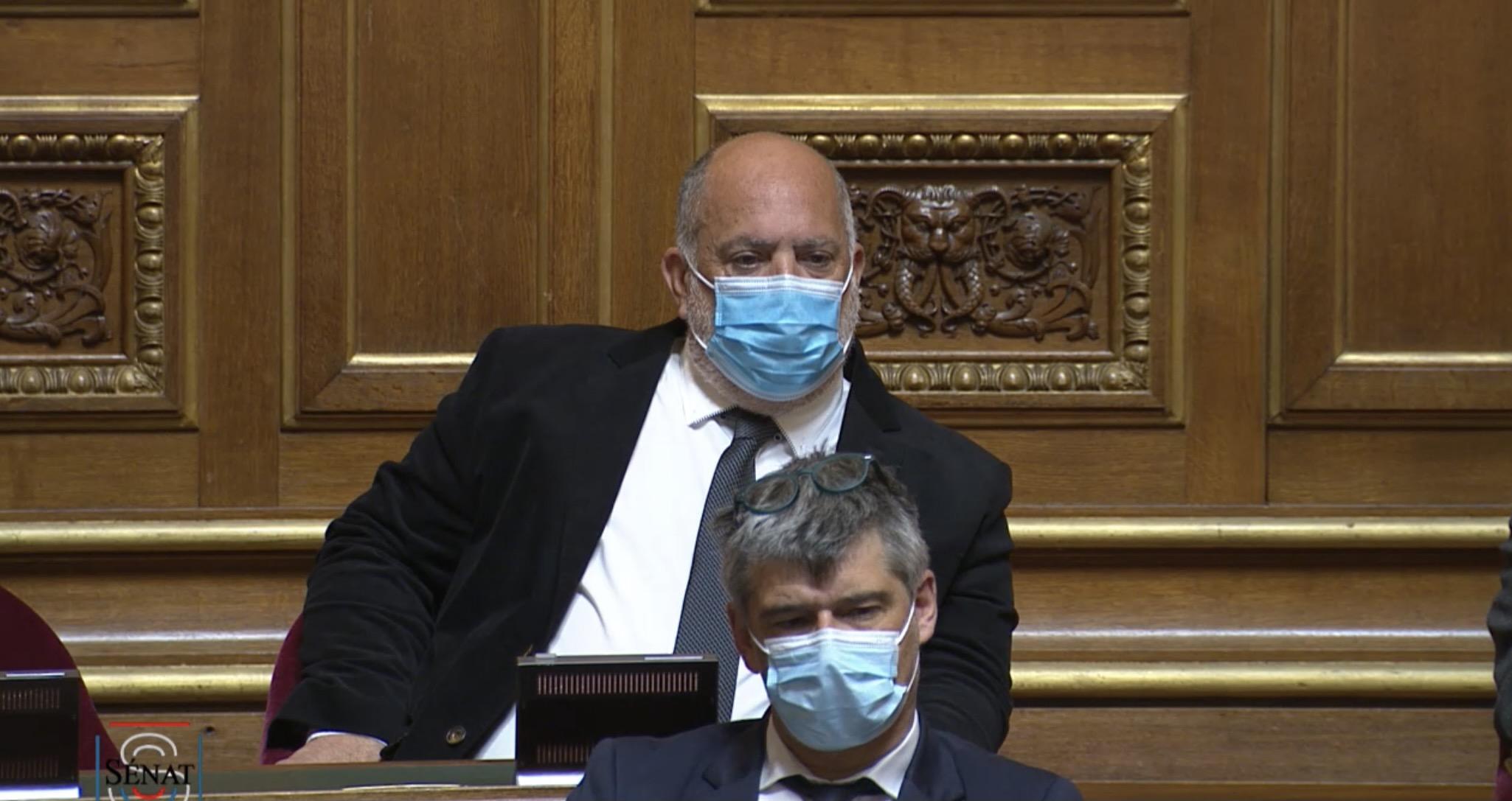 Paulu Santu Parigi, Sénateur de Haute-Corse, membre du groupe parlementaire Ecologiste - Solidarité et Territoires.