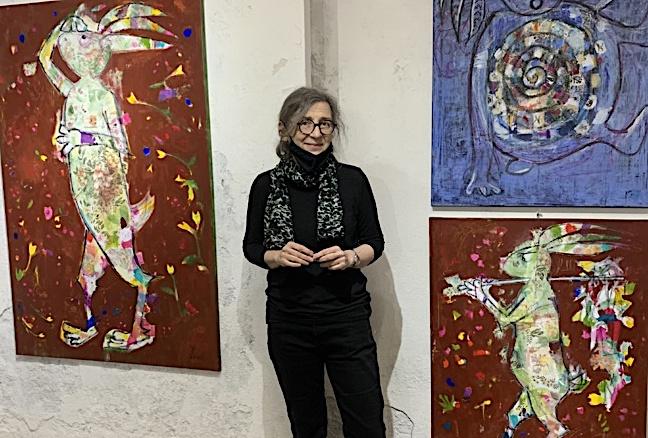 Lapin, lapin...ture... l'univers de Michèle Corrotti.