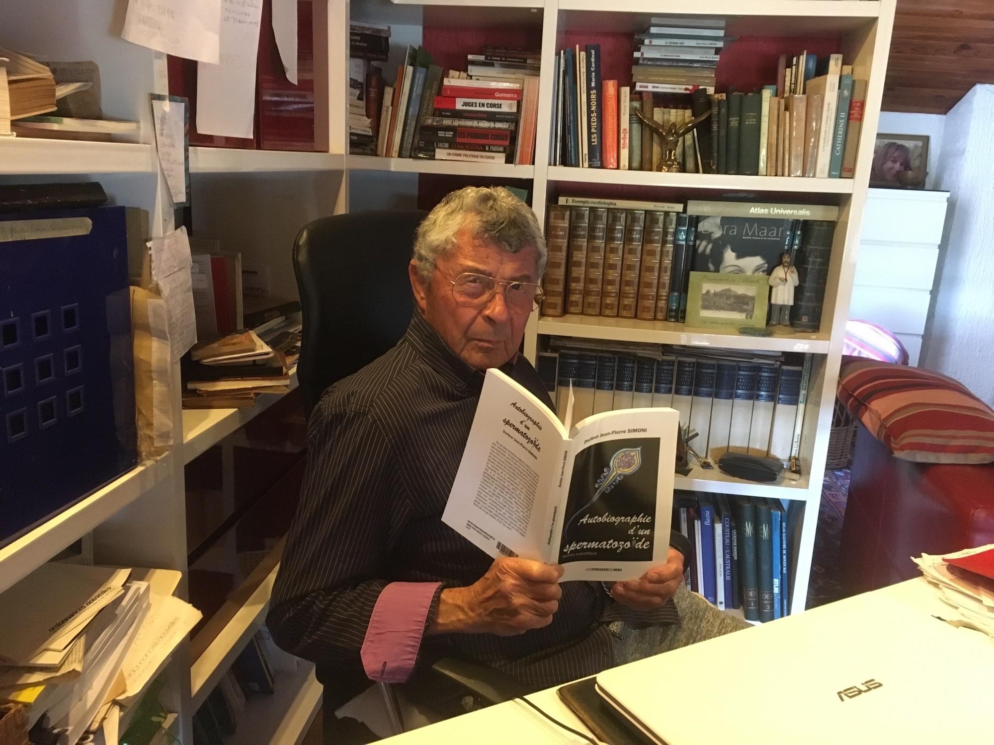 Jean-Pierre Simoni : « Autobiographie d'un spermatozoïde »