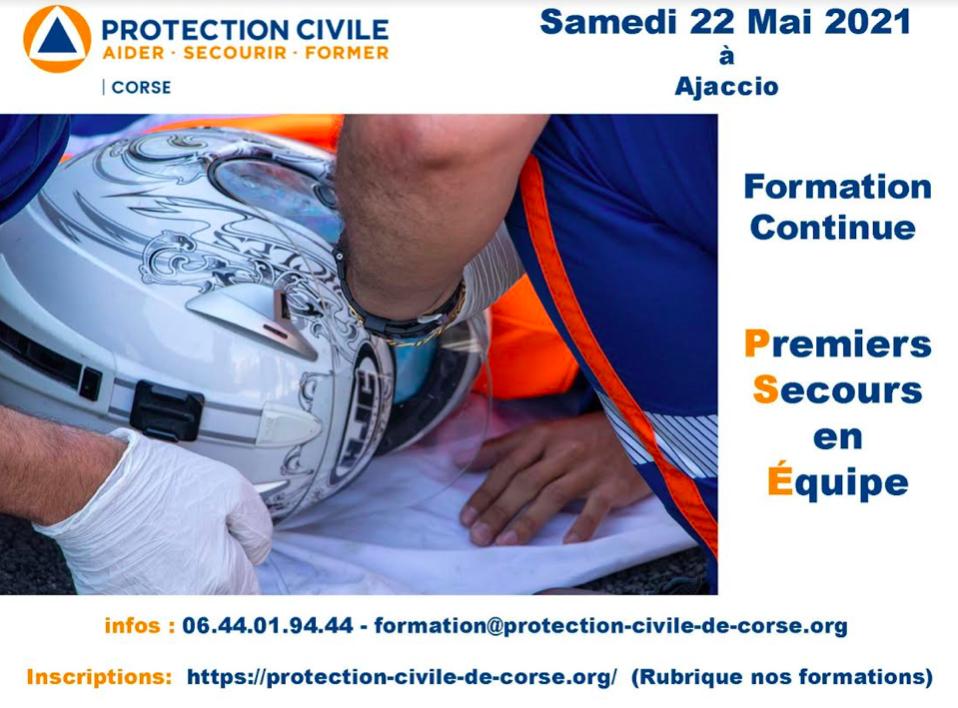 Ajaccio : La Protection Civile de Corse propose des formations