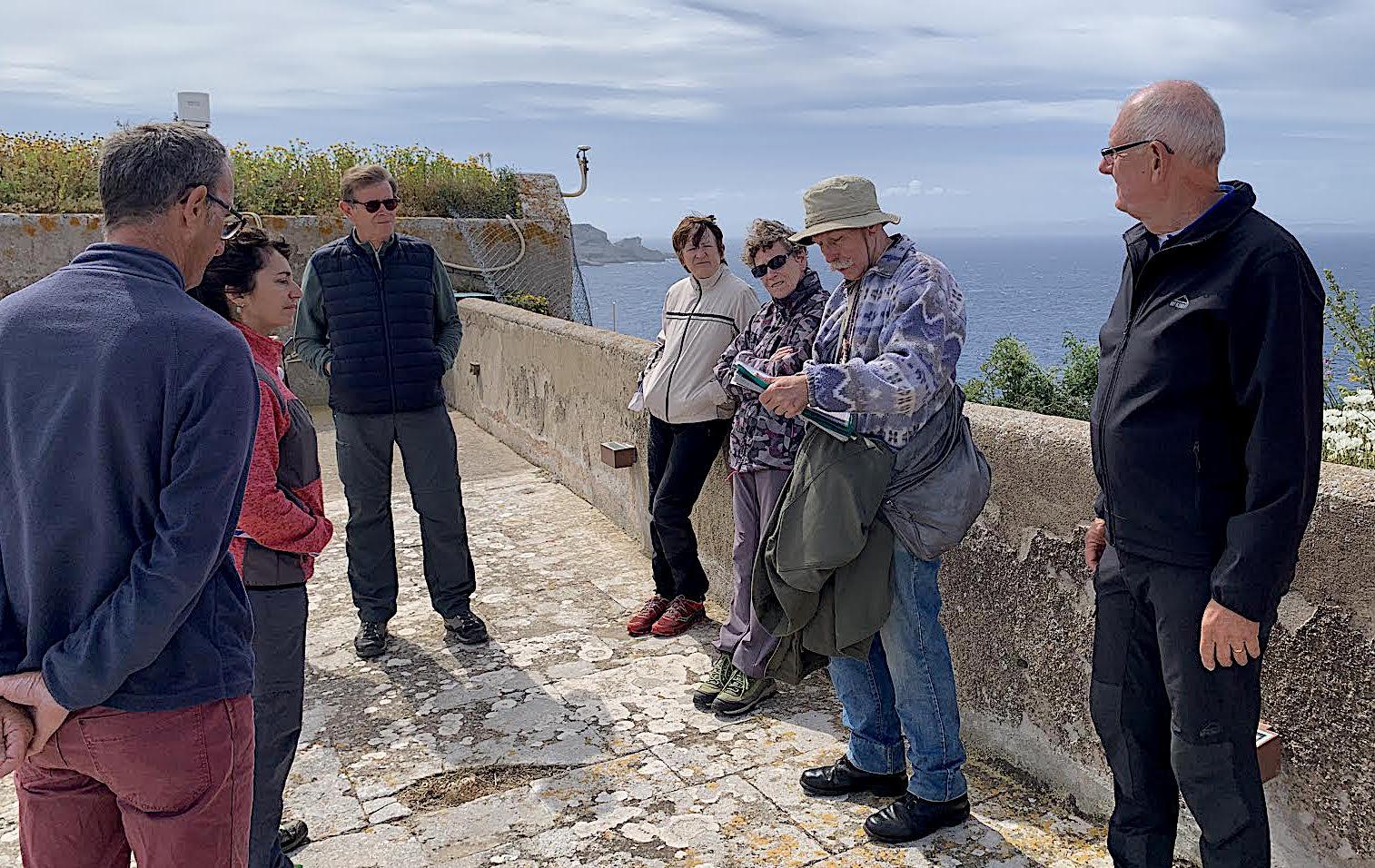 Visite guidée sur la patrimoine militaire bonifacien