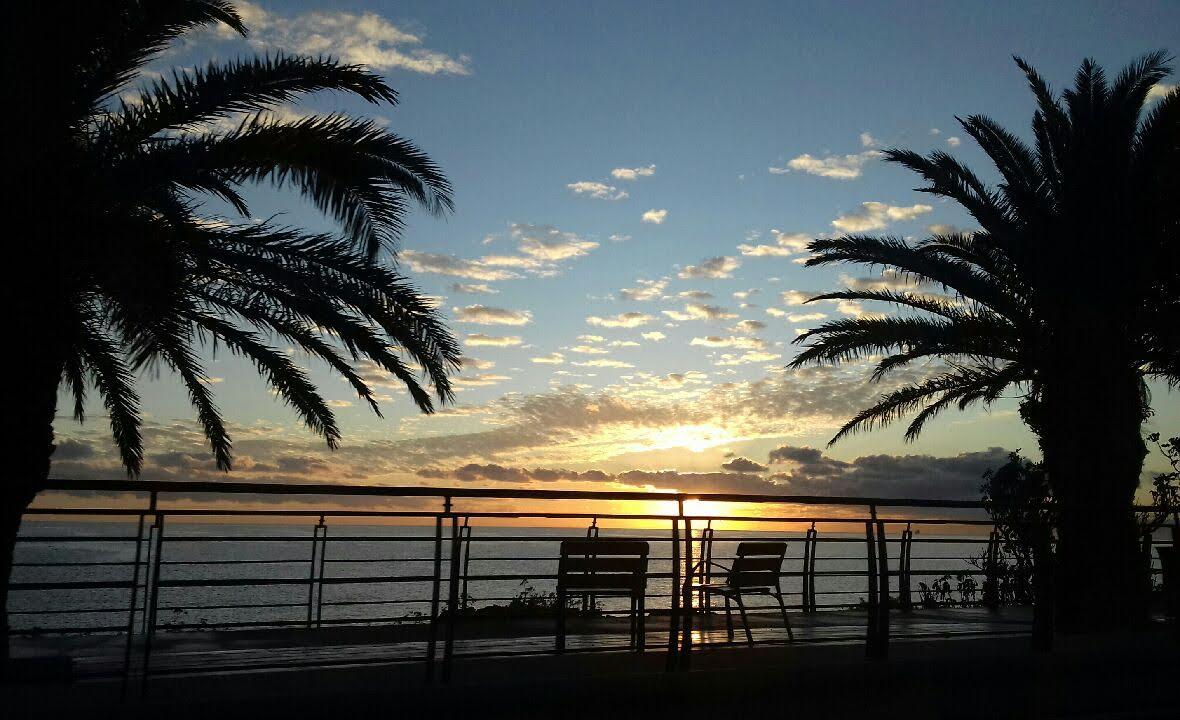 Le front de mer de Bastia par temps de libecciu (Charles Lucchini)