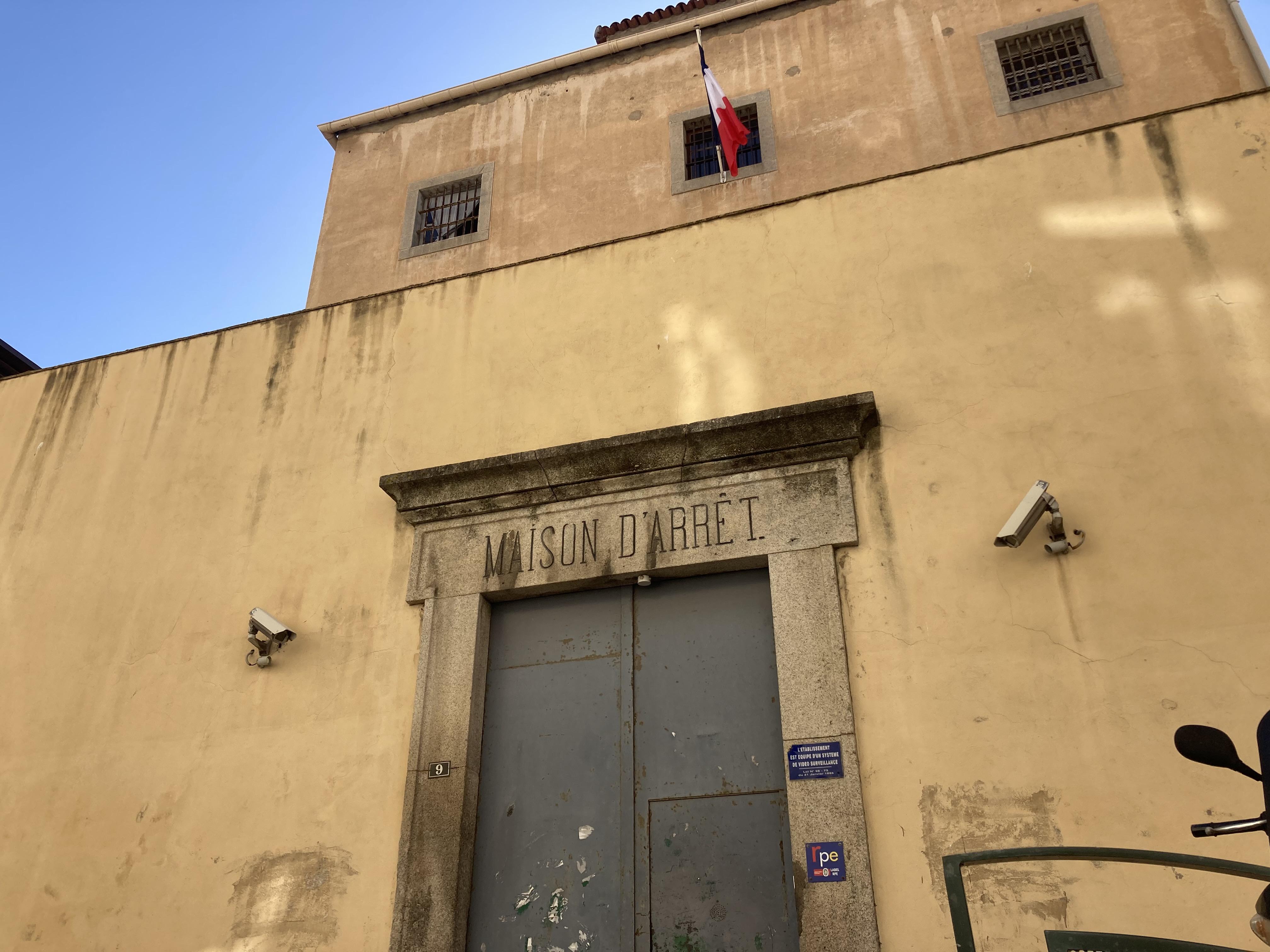 La maison d'arrêt d'Ajaccio. Photo Julia Sereni