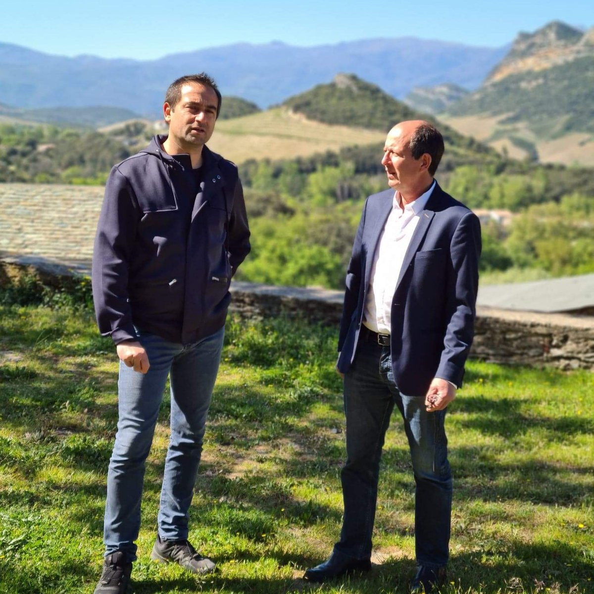 Jean-Batti Arena et Paul-Félix Benedetti.