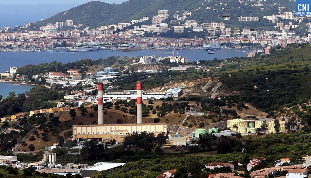 La centrale du Vazzio à Ajaccio. Photo : Michel Luccioni