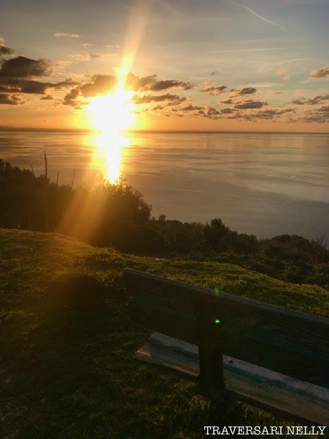 Quand le Soleil se couche à Canari (Nelly Traversari)