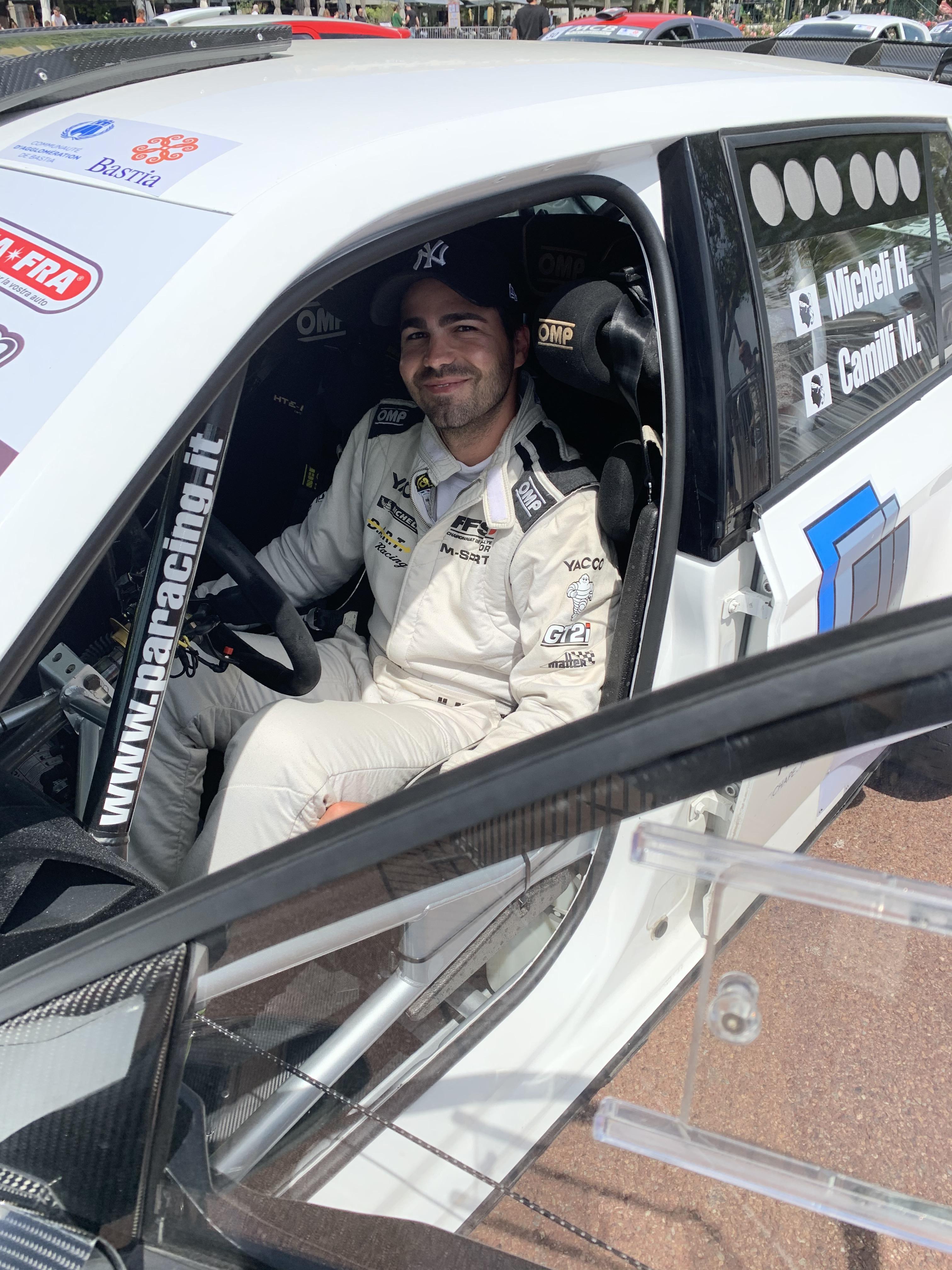 Hugo Micheli le plus rapide samedi matin