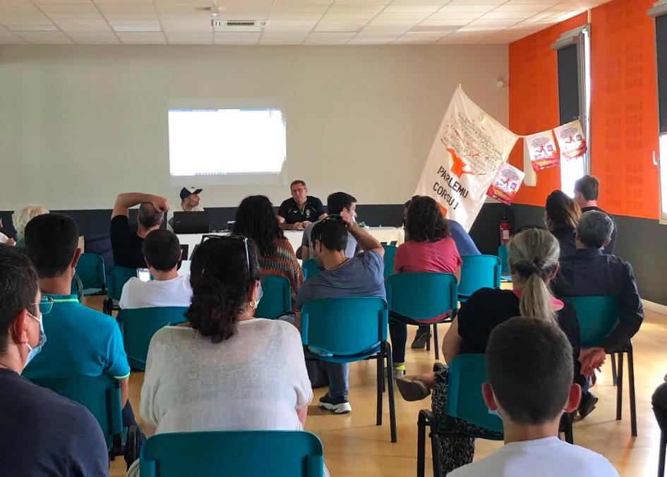 La conférence de presse de présentation di u Currilingua