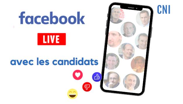 Territoriales - Facebook Live CNI : Ies candidats ont la parole, vous aussi