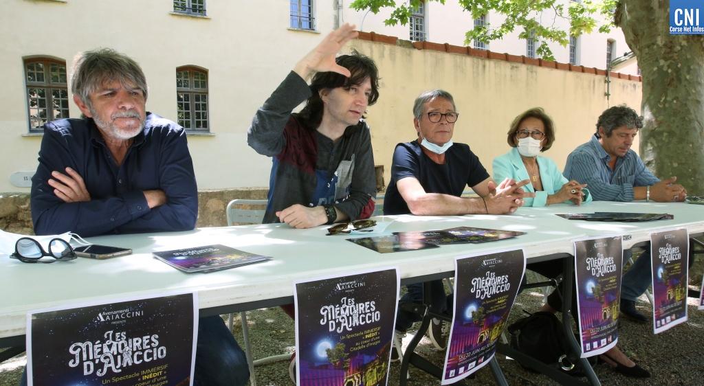"""Les organisateurs des """"Mémoires d'Ajaccio"""" comptent la présence nombreuse du public ajaccien cet été. Photo : Michel Luccioni"""
