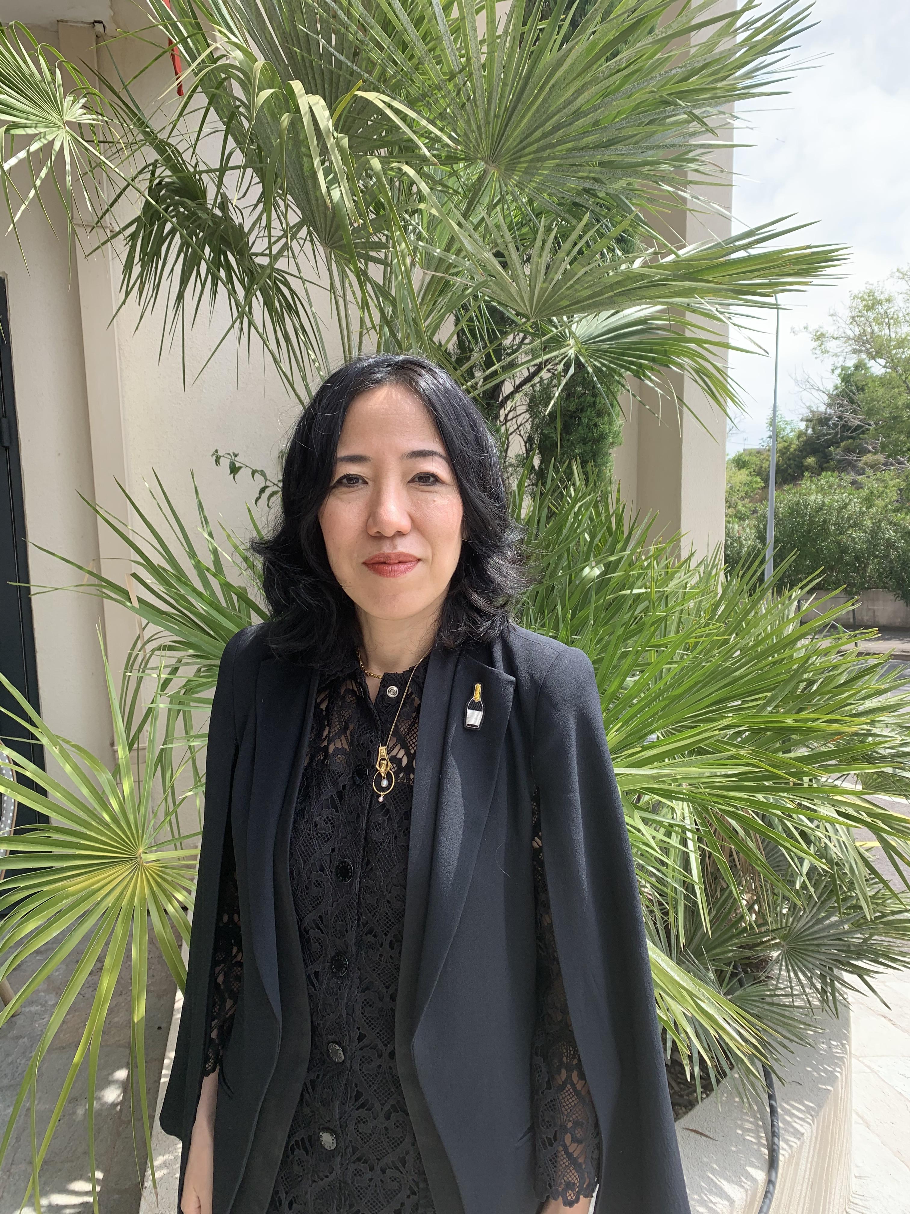 Invitée d'Histoire(s) en Mai, l'auteure Ryoko Sekiguchi