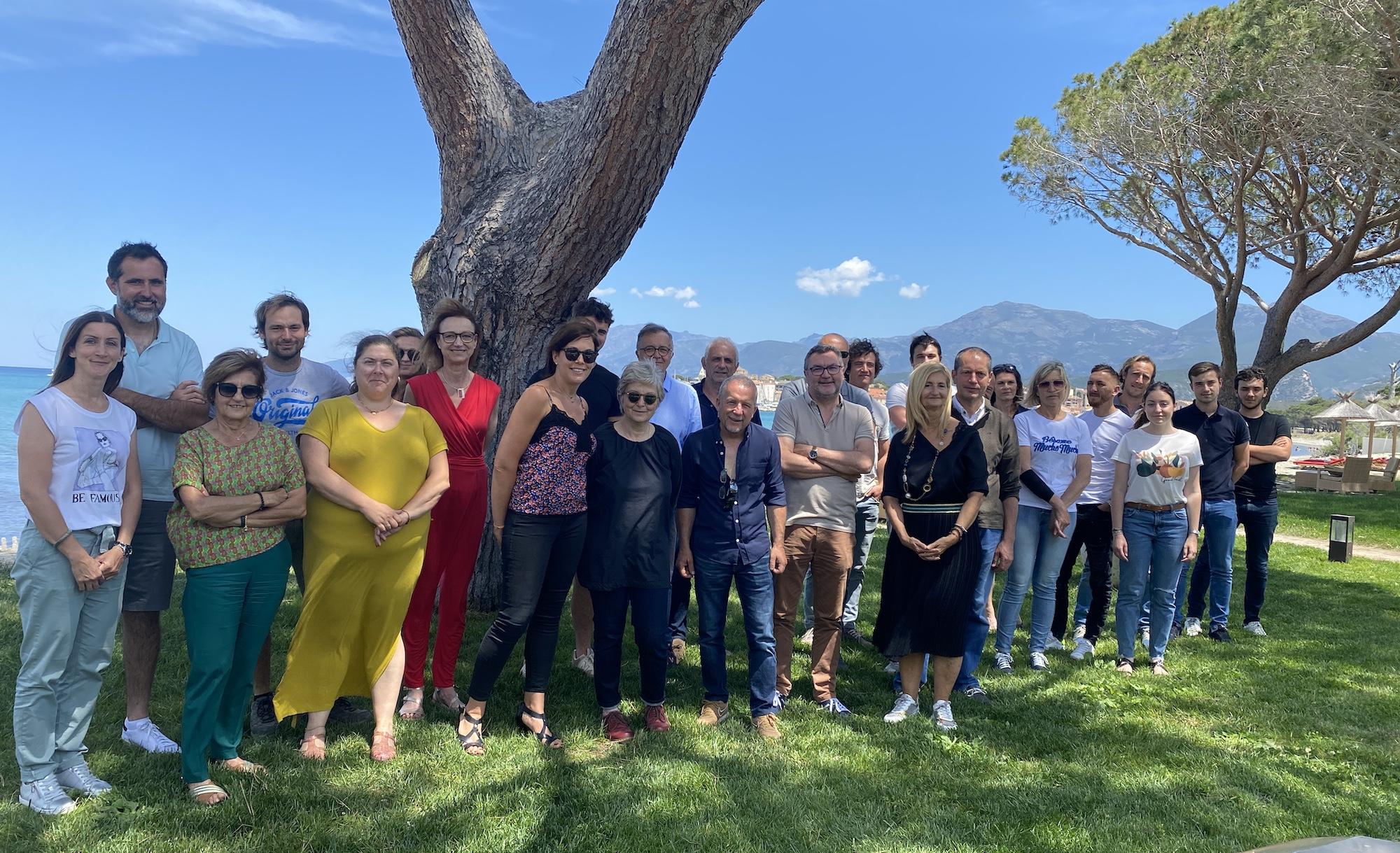 Le comité de dégustation du GIAC, s'est réuni à Saint Florent pour attribuer les AOP.