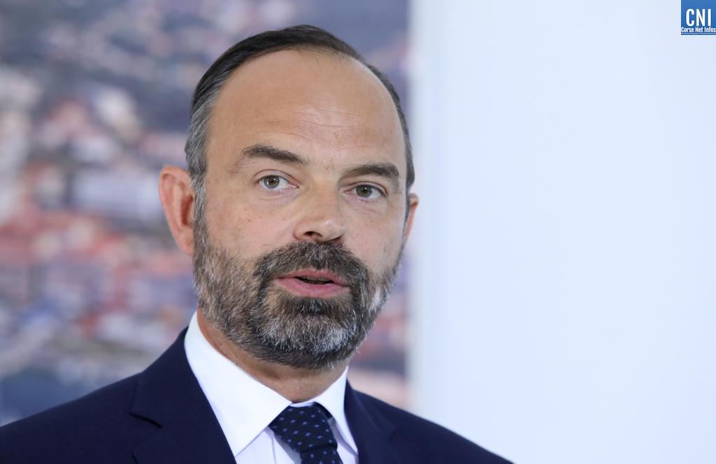 Edouard Philippe à Ajaccio en juillet 2019.
