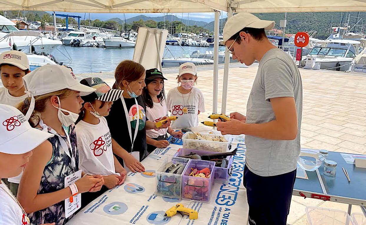 Water safetay days : après Calvi, halte à Saint-Florent pour la fondation de la princesse Charlène de Monaco