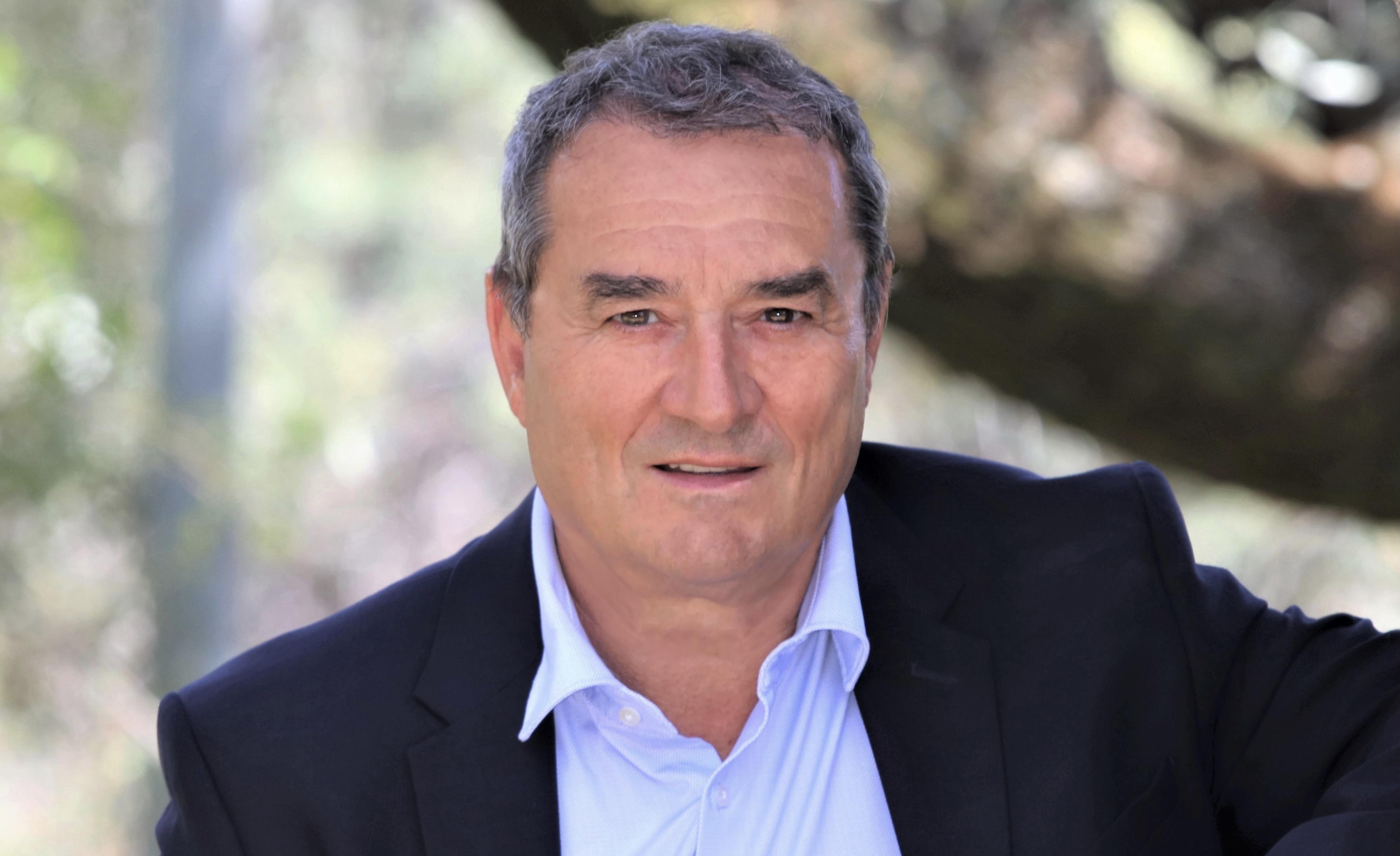 """François Filoni, chef de file de la liste du Rassemblement national """"Les nôtres avant les autres"""" aux élections territoriales des 20 et 27 juin."""