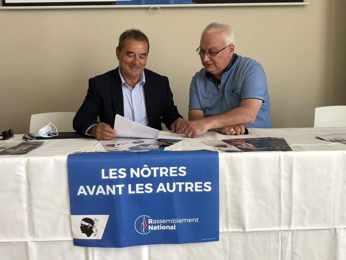 François Filoni et Francis Nadizi.
