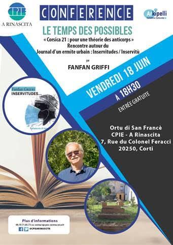Corte : une rencontre-débat avec Fanfan Griffi