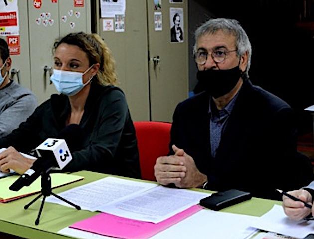 Anissa Flore Amziane et Michel Stefani.