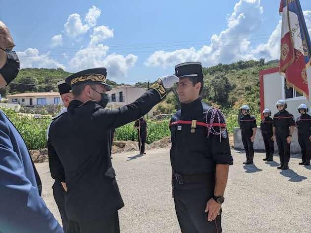Nouvelle caserne du centre de secours de Pietrosella : le capitaine Jean-François Susini a pris le commandement