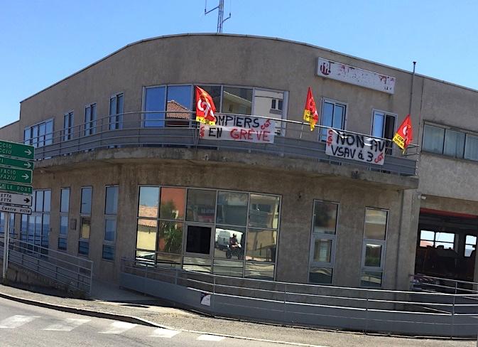 La caserne du CSP de Bastia (Archives CNI)