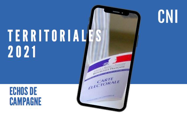 Territoriales : Echos de campagne du 12 juin 2021