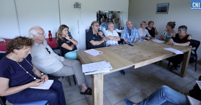 La coordination Corse Terra  en 2019