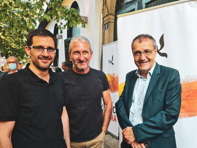 Avec Petr'Anto Tomasi et Loulou Colombani.