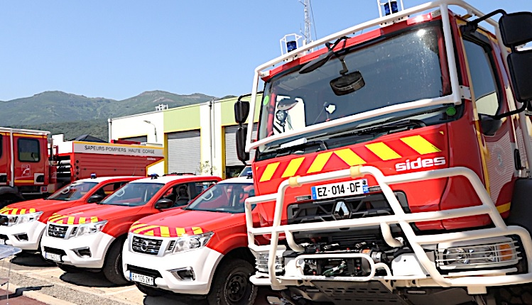 Grève des pompiers de Haute-Corse : le conflit s'enlise