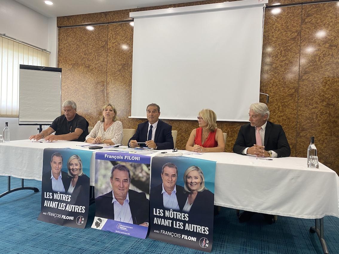 Territoriales - François Filoni : « Nous voulons ramener la morale dans l'hémicycle territorial »