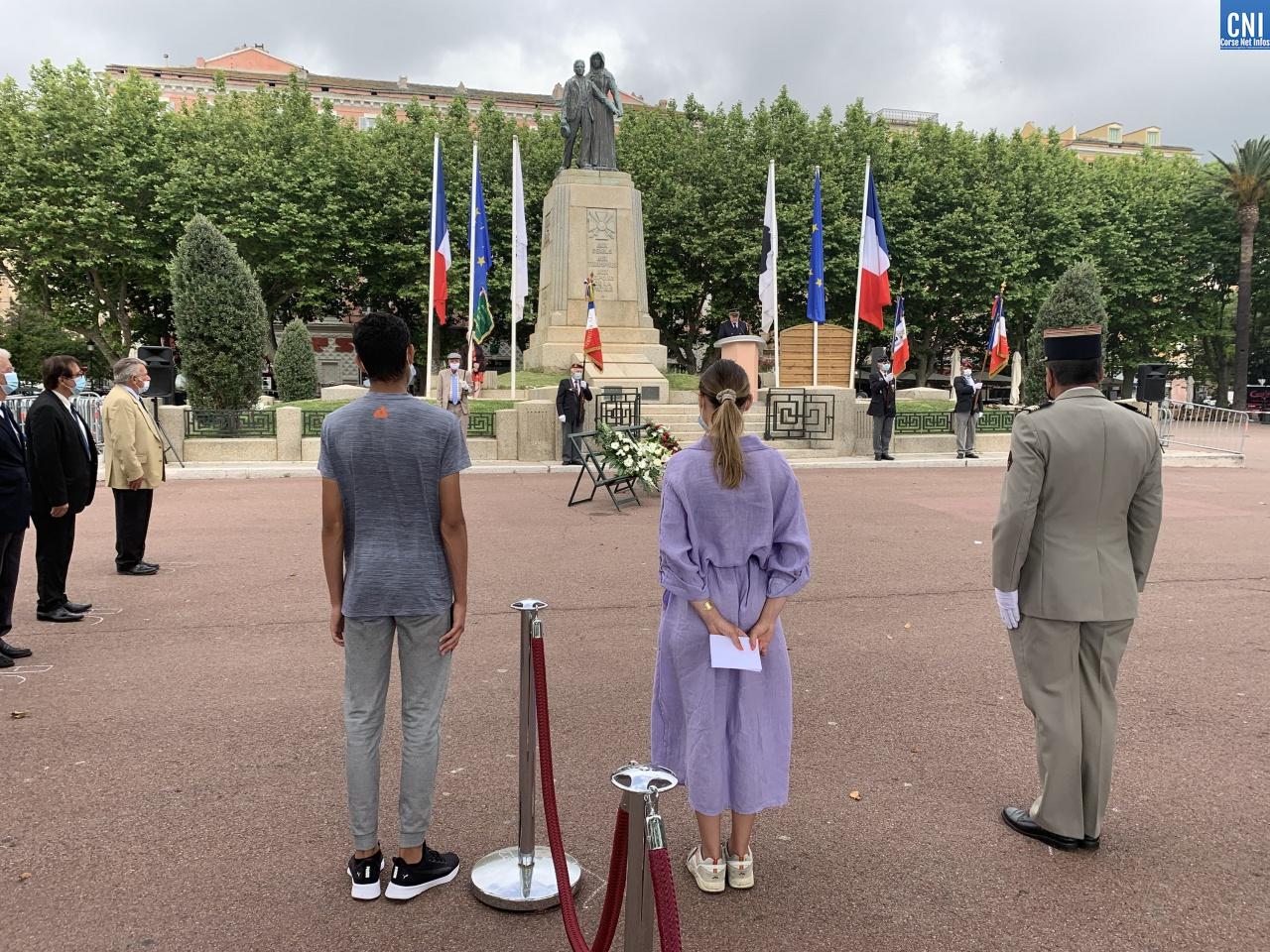 18 Juin - Le 81ème anniversaire de l'appel du général de Gaulle célébré à Bastia