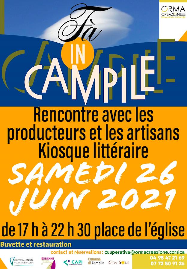 Fà in Campile revient  ce samedi 26 juin