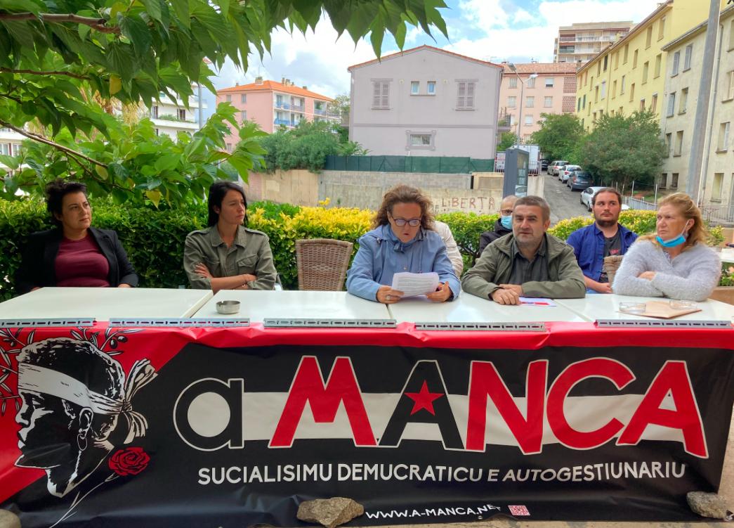 Territoriales : À Manca appelle à voter pour la liste Core in Fronte