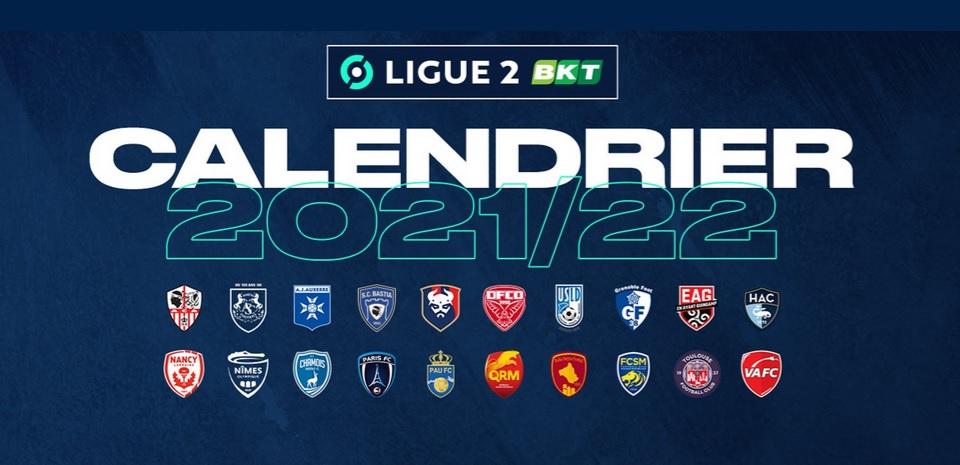 Football : ACA et SCB connaissent désormais leur calendrier de Ligue 2