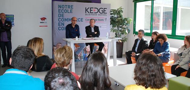 Image d'illustration. La Kedge Business School de Bastia reste à taille humaine avec 25 élèves. Archives CNI