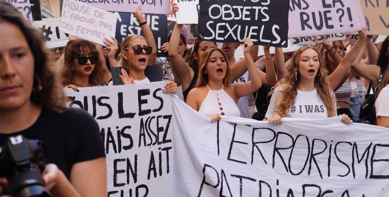 Bastia : E Zitelle in zerga manifestent contre les violences faites aux femmes