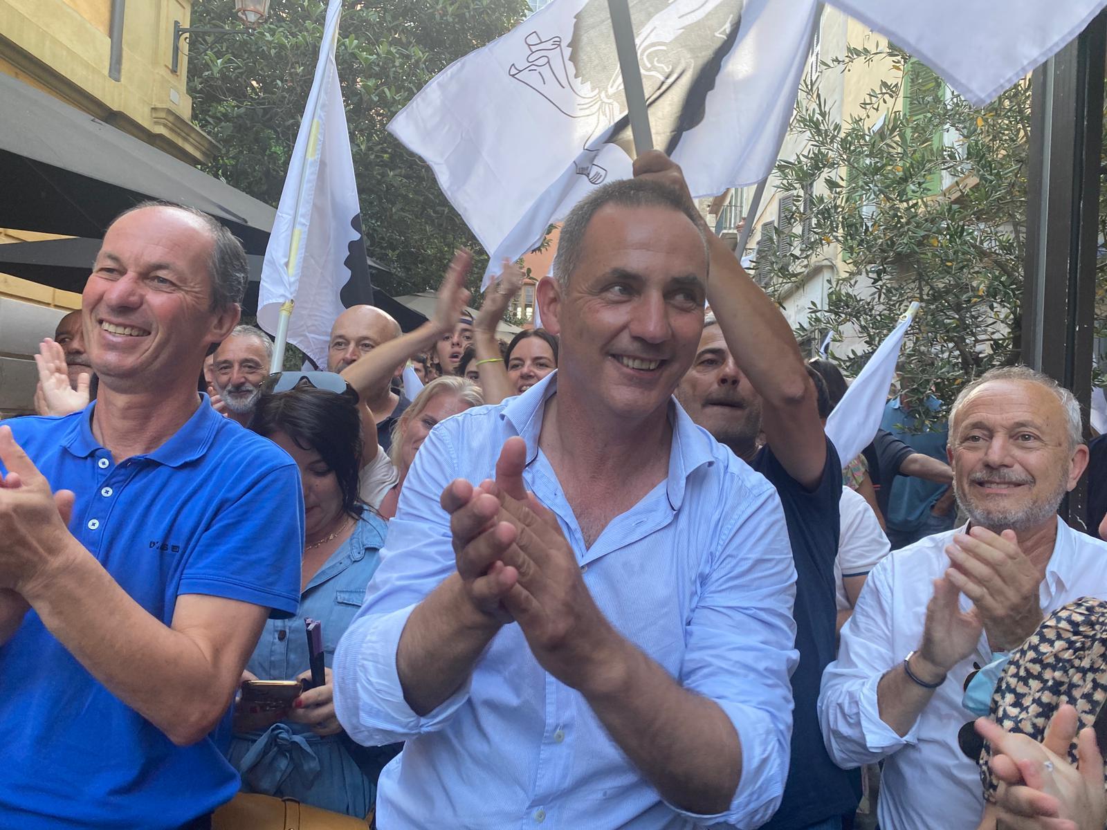 VIDÉO - Gilles Simeoni, en tête du second tour des territoriales : «C'est un résultat extraordinaire»