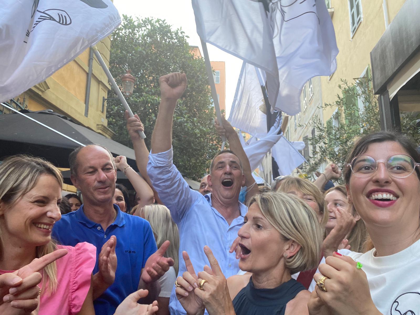 Le dimanche 27 juin à Bastia. Gilles Simeoni