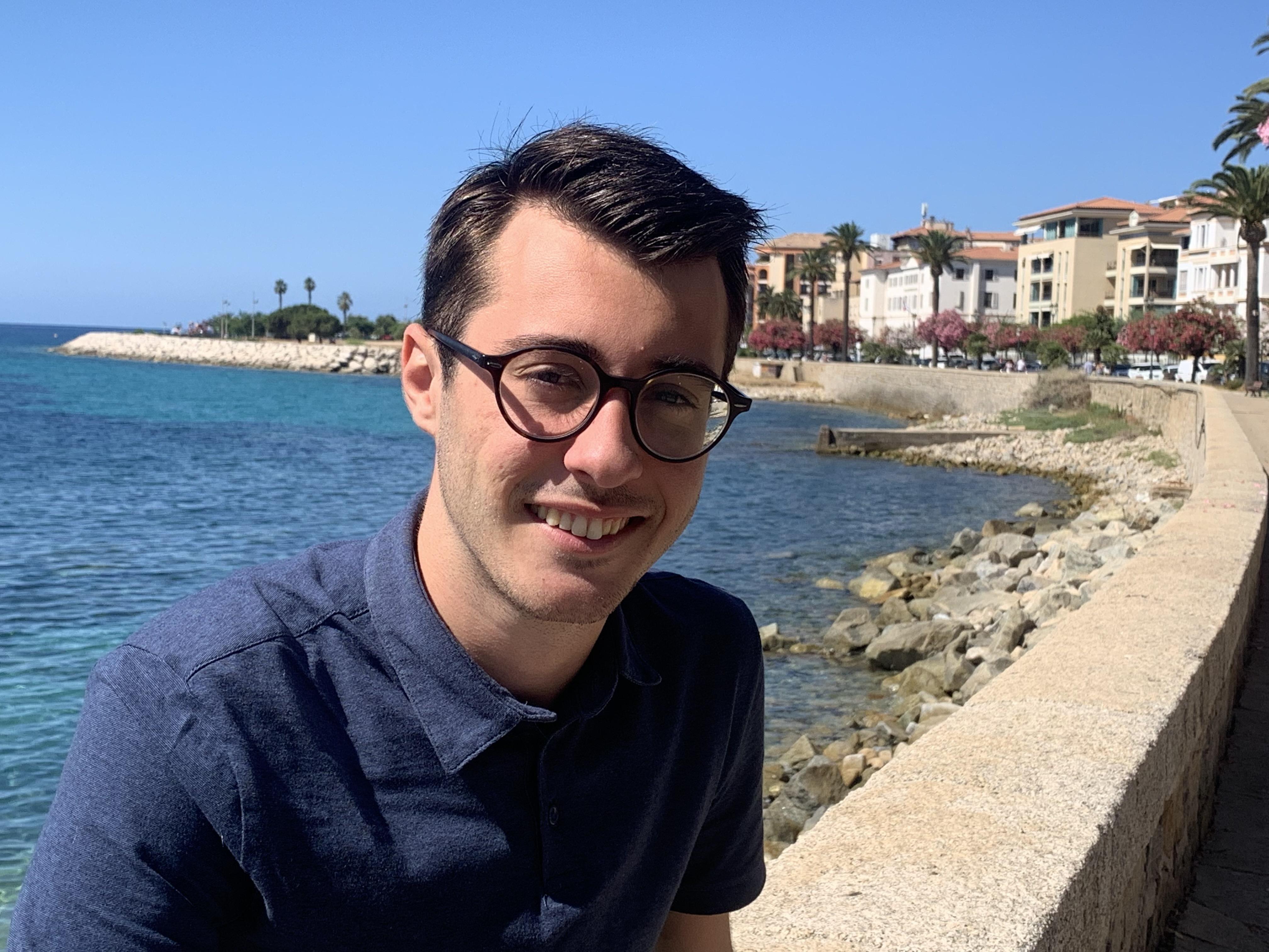 À 22 ans, Don Joseph Luccioni est le benjamin de l'Assemblée de Corse. Photo : DJL