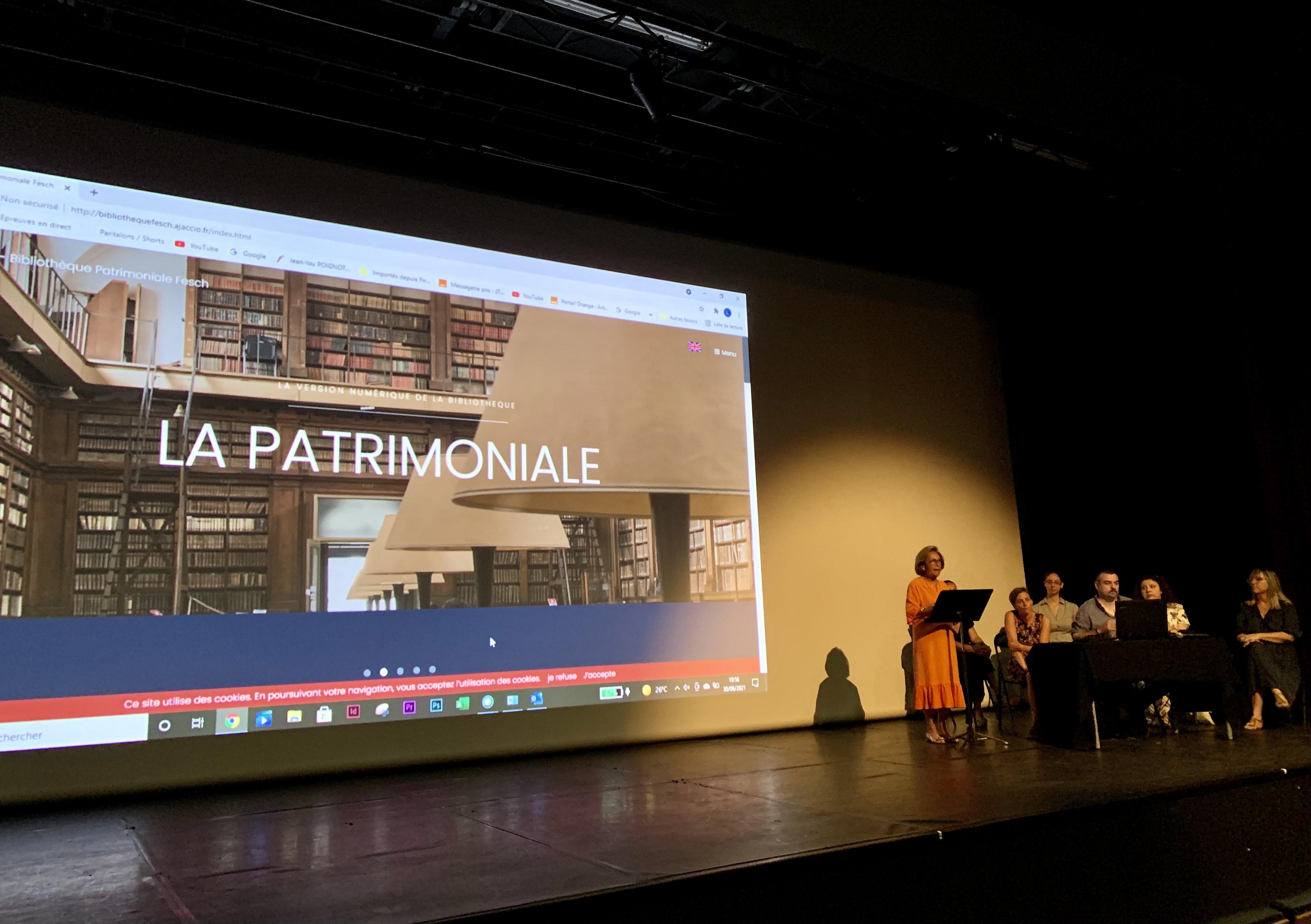 La conférence de presse de présentation de cette exposition inédite ce mercredi 30 juin à Ajaccio