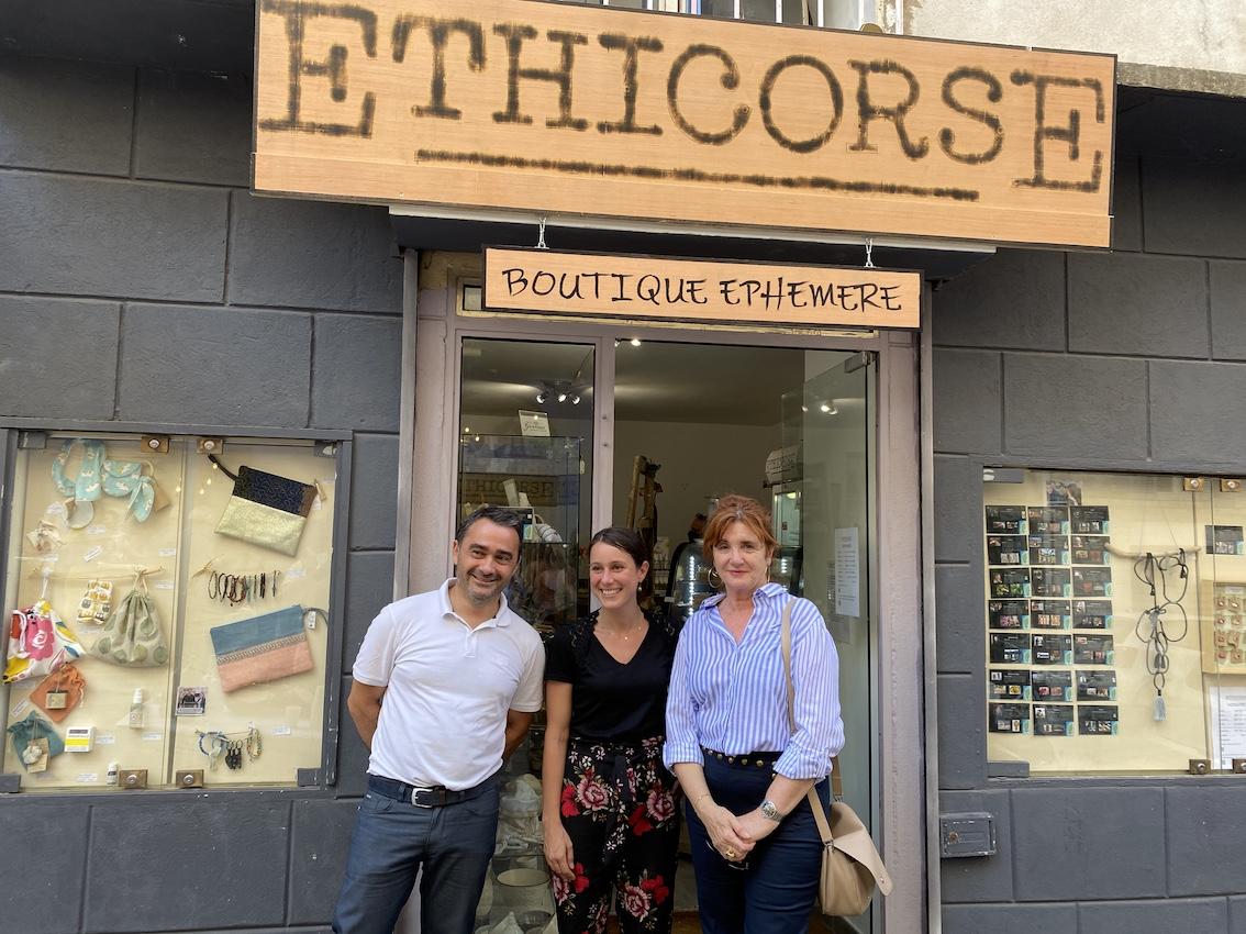 Ajaccio : La M3E inaugure deux nouvelles boutiques éphémères