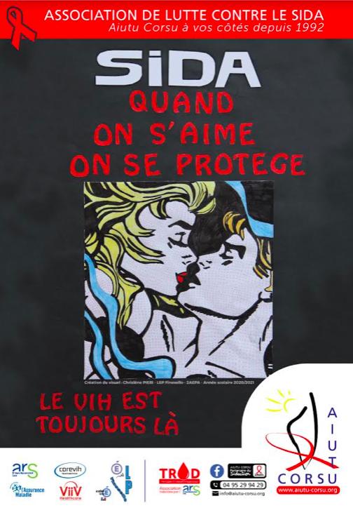 Prévention du sida : les lycéens du Finosello mobilisés