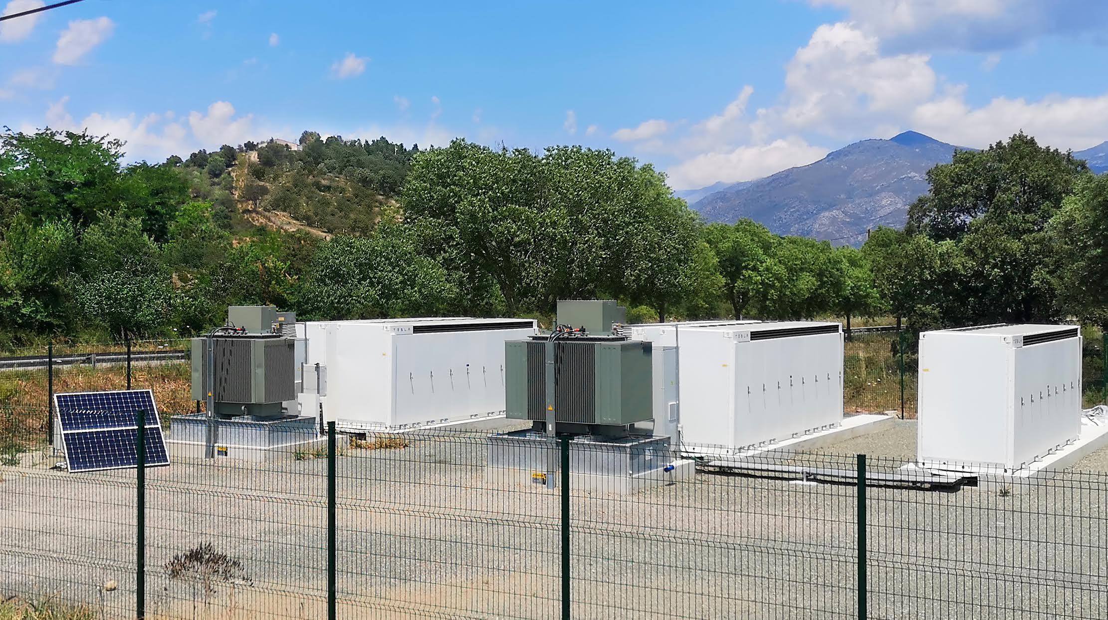La centrale de Parto (Corsica Sole)
