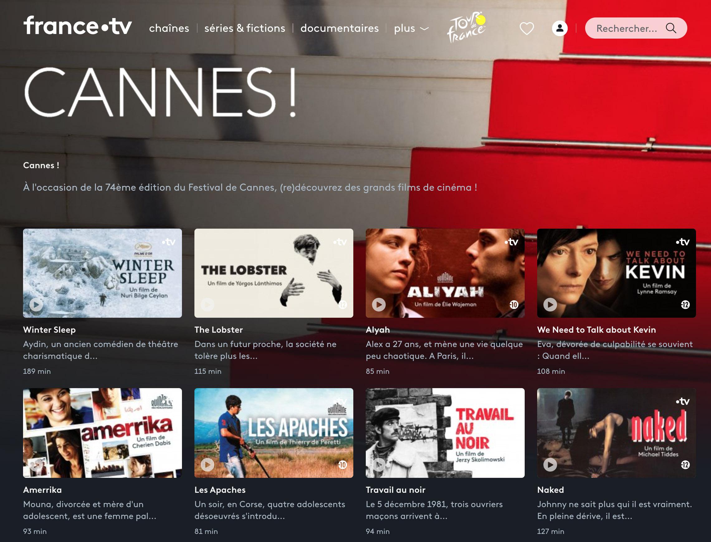 Le Festival de Cannes déroule le tapis rouge aux corses