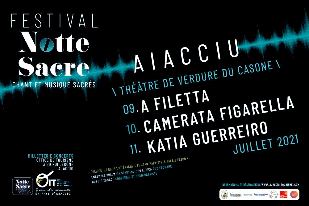 Ajaccio : gagnez des places pour le festival Notte Sacre avec CNI
