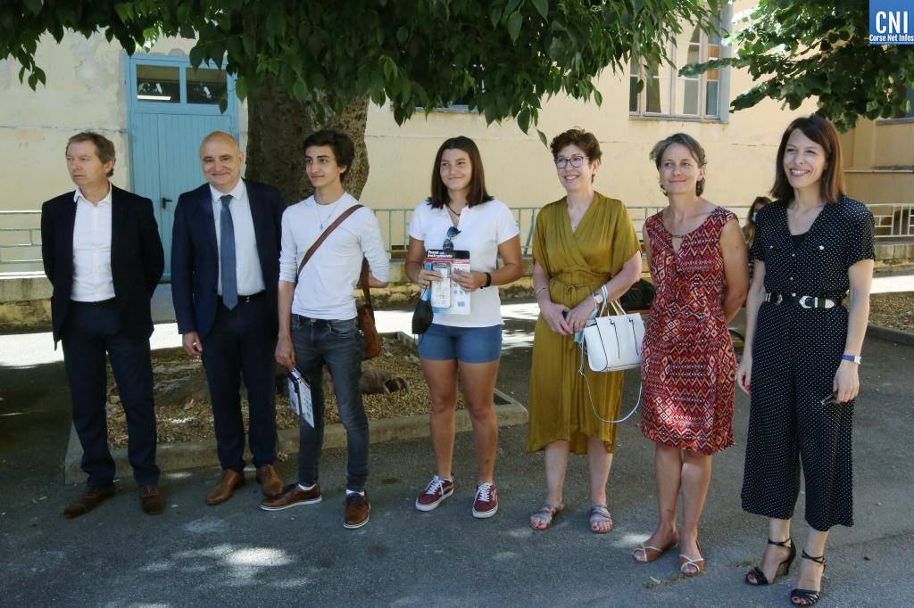 Olympiades de chimie et de mathématiques : les lauréats corses récompensés à Ajaccio