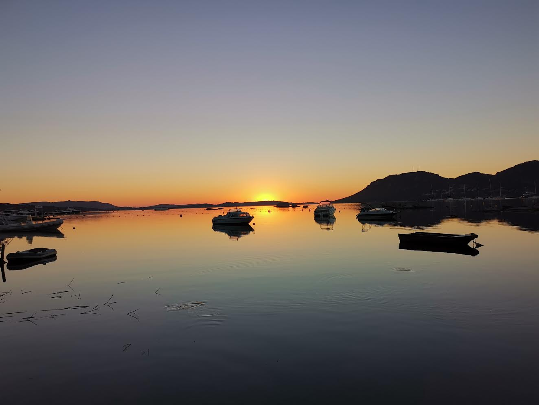 La photo du jour : superbe lever de soleil sur Porto-Vecchio