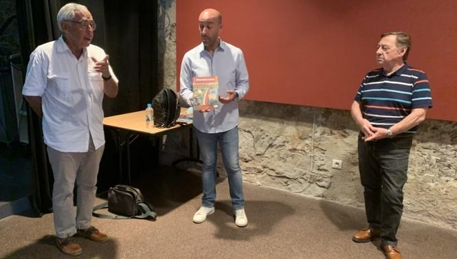 Christian Castellani, Stéphane Orsini et Jean Dal Colletto ont présenté le projet «Mémoire des diasporas corses»