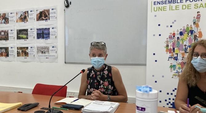 La directrice de l'ARS de Corse Marie-Hélène Lecenne tire la sonnette d'alarme. (Photo Julia Sereni)